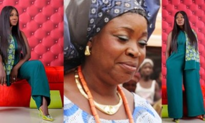 Mercy Johnson remembers Mother