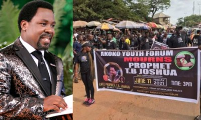 Prophet TB Joshua and Youths