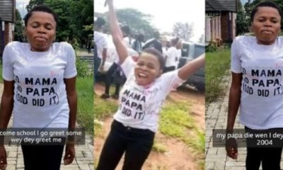 Physically Challenged Lady Bagged A BSC