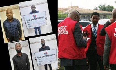 EFCC Jailed Two Bank Officials