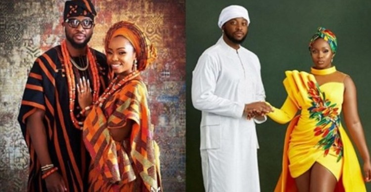 Teddy A and Bam Bam celebrate 1st traditional wedding anniversary (Photo)