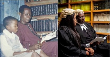 Daddy's girl : Father-daughter lawyers melt hearts online with adorable photos