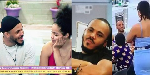#BBNaija: One Week Without You In The House Is Like A Death Sentence – Nengi To Ozo [Video]