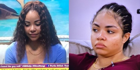 """#BBNaija: """"Big brother that is so rude"""" – Nengi reacts as Big Brother orders her to leave after she offered him a gift"""