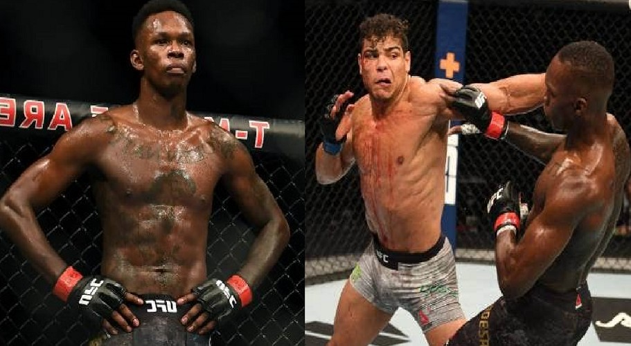 Israel Adesanya Defends Title As He Knocks Down Costa In 2nd Round (Video)