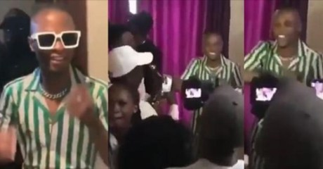 GRASS TO GRACE! Laycon Performs For His Fans During 'Meet And Greet' (Video)