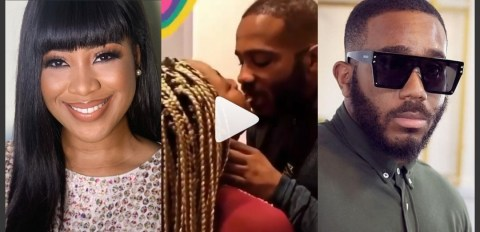 Cute Moment #BBNaija Kiddwaya And Erica Were Captured Kissing In Public (Video, Photos)