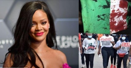 """""""My heart is broken for Nigeria man!! It is unbearable to watch"""" – Rihanna Lends Voice To #EndSARS Protest"""