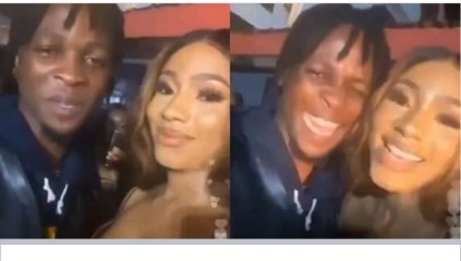 Watch Mercy Eke's reaction after meeting Laycon for the first time. (VIDEO)