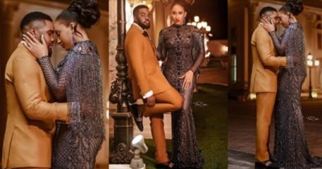 Williams Uchemba Shares Stunning Pre-Wedding Photos With Fiancee, Brunella, Ahead Of Their Wedding Next Week (see photos)