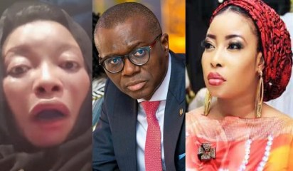 """""""Give Us 1 Million Naira Each Before Embarking On Lockdown"""" – Actress, Lizzy Anjorin Sends Strong Warning To Sanwo-Olu (VIDEO)"""