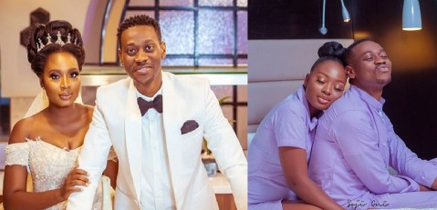 Adedimeji Lateef Leaves Fans Confused Again As He Shares Adorable Loved Up Photos With Mo Bimpe
