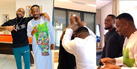 """""""Happiness wan kill me"""" – Zubby Michael excited to meet Davido (Video)"""