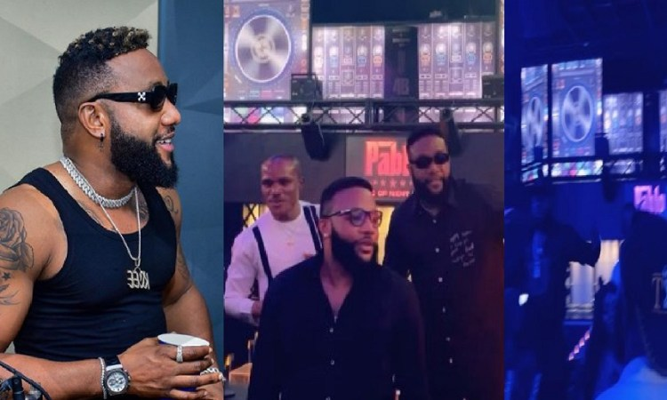 Kcee Turns His Night Club Into A Worship Center As He Leads Others To Worship God (Video)