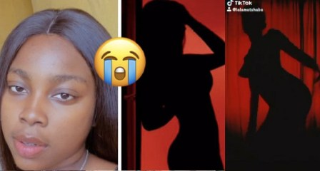 """""""Someone Sent My #SilhouetteChallenge Video To My Mom"""" – Lady Cries Out (Video)"""