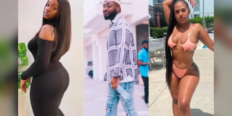 Video of Chioma Avril Crying After Seeing Video Of Davido And His New Girlfriend