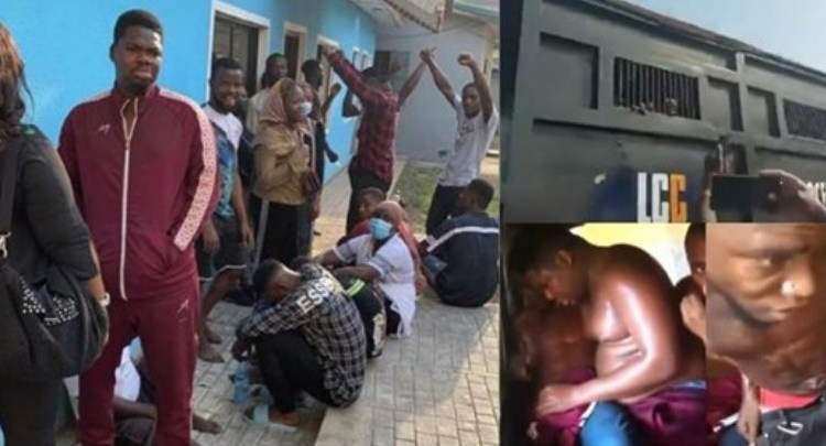 #OccupyLekkiTollgate: Mr Macaroni, others released after hours in police custody [Photos]