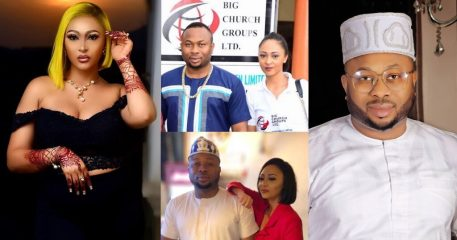 Throwback video of Rosy Meurer saying, 'asking her if she's sleeping with Olakunle Churchill is just like asking her if she's sleeping with her brother'