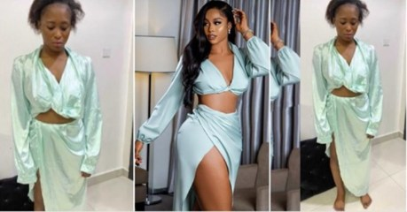 What I ordered vs what I got: Lady tries to recreate Lilian Afegbai two-piece outfit [Photos]