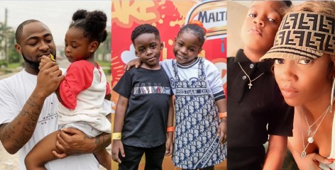 Davido publicly declares his daughter, Imade will marry Tiwa Savage son, Jamil