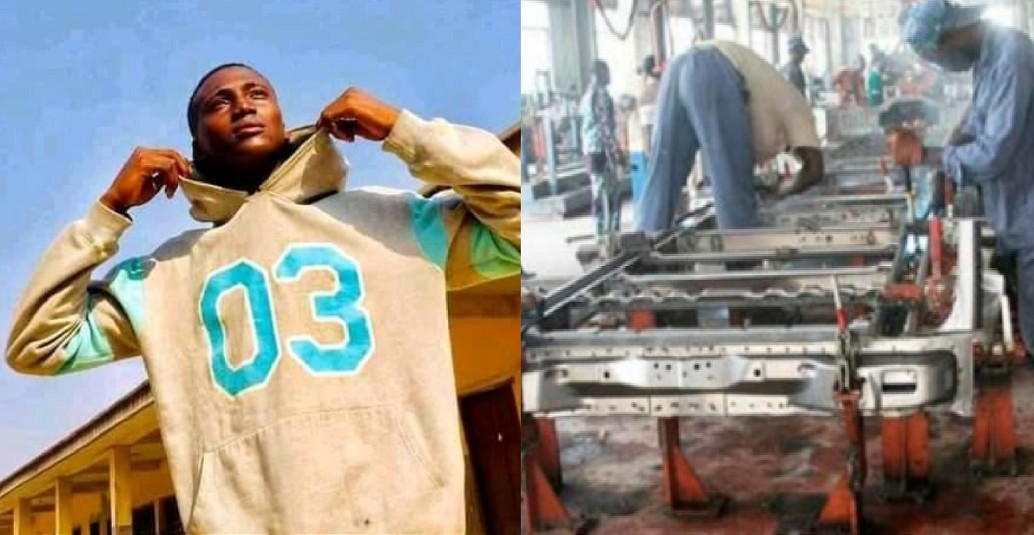 17-year-old boy killed in industrial accident on his first day at work in Lagos [Photos]