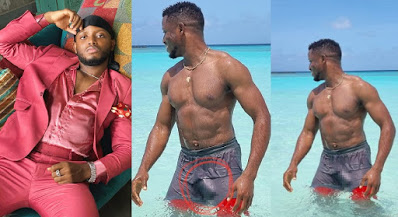 """""""My V!g!na is clapping already"""" - Singer Chike makes Ladies go Gaga with his Cucumber in wet swim trunk [Photos]"""