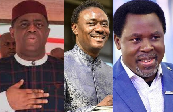 IF ANYONE IS A WIZARD, IT IS YOU. GOD WILL PUNISH YOU – FFK SLAMS REV CHRIS OKOTIE FOR 'INSULTING' LATE PROPHET T.B JOSHUA
