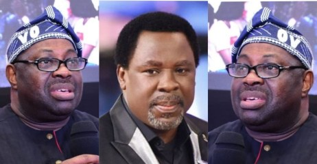 Dele Momodu query Christian community, ask why they have not commented on the death of Prophet TB Joshua