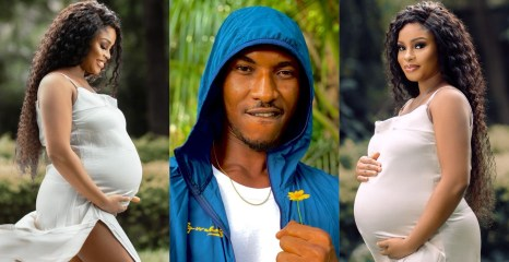 Actor Gideon Okeke welcomes His Second Child With His Lovely Wife Chidera (Photos)
