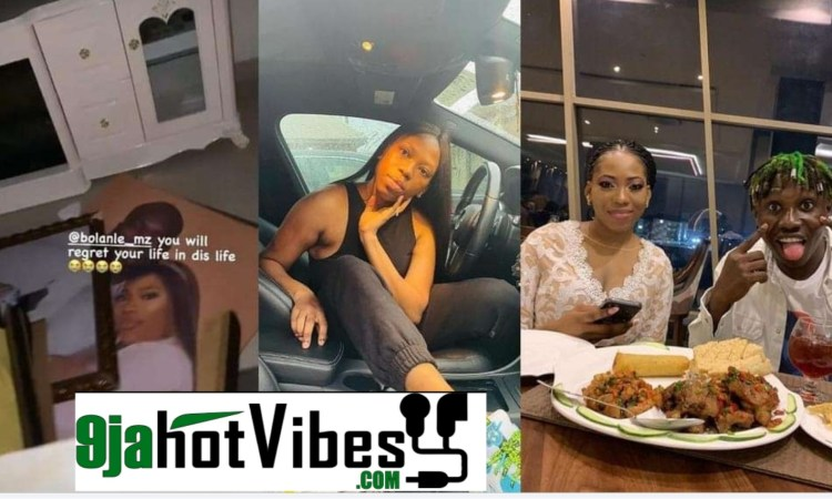 Bolanle Who Appeared in Zlatan's 'pepper Dem' Has Been Sent Packing From Her Husband's House Over Alleged Violence (video)