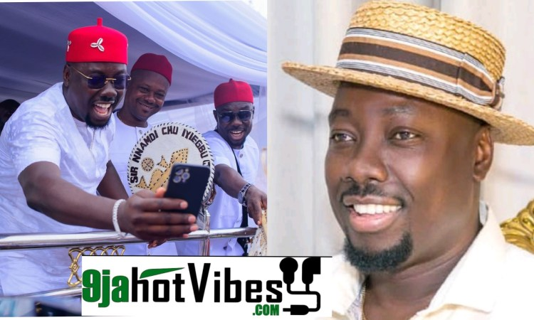 I Am The 3rd Male Child And the 4th Born In My Family - Obi Cubana Says As He Shows Off His Brothers (Photos)