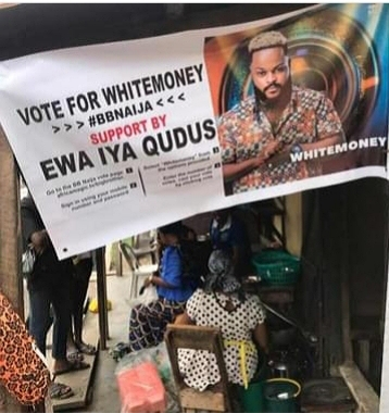 """#BBNaija: """"He Is Loved By All , He is The Real Street"""" - Checkout Reactions As Food Vendor Shows Heartwarming Support For #BBNaija2021 Housemate WhiteMoney (Photos)"""