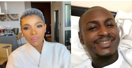 """""""Your Brother is tired!!!! Everyone is trying to suck him dry!"""" – Annie Idibia hits back at Tuface' brother, Charles"""