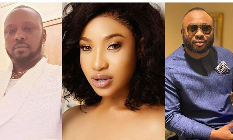 """Churchill, you're a man"""" – Tonto Dikeh's lover hails ex-husband amidst separation rumor"""