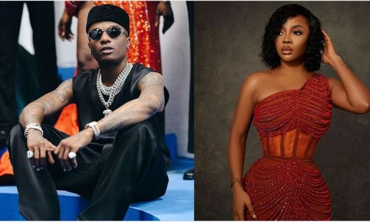 Wizkid reacts after Toke Makinwa claimed he used to be an errand boy who bought 'amala' for DJs