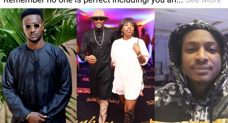 """""""That is the last thing I'll take from the Idibia's family"""" – Annie's brother, Wisdom slams 2baba's brother, Charles for calling his mother 'evil names'"""