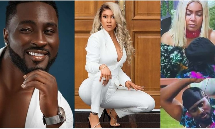 """#BBNaija: """"She told me to have sex with her"""" – Pere finally discloses private discussion with Maria when they took of their mics (video)"""