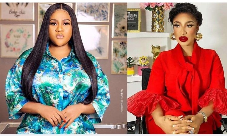 """""""Her only Crime was to want to be loved as hard as she loves"""" – Actress, Nkecki blessing reaches out to Tonto Dikeh amid 'messy break-up' with ex-boyfriend"""