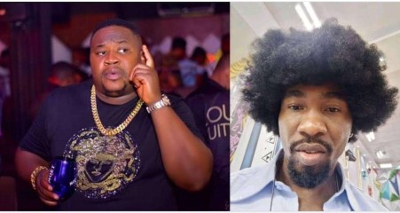 """#BBNaija: """"Keep my name out of your mouth"""" – Boma knocks Cubana Chiefpriest over his comments on his relationship with Tega"""