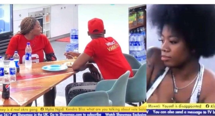#BBNaija: She is disgracing herself on National TV – Angel trends online after she told Emmanuel that she wants to have $ex with him
