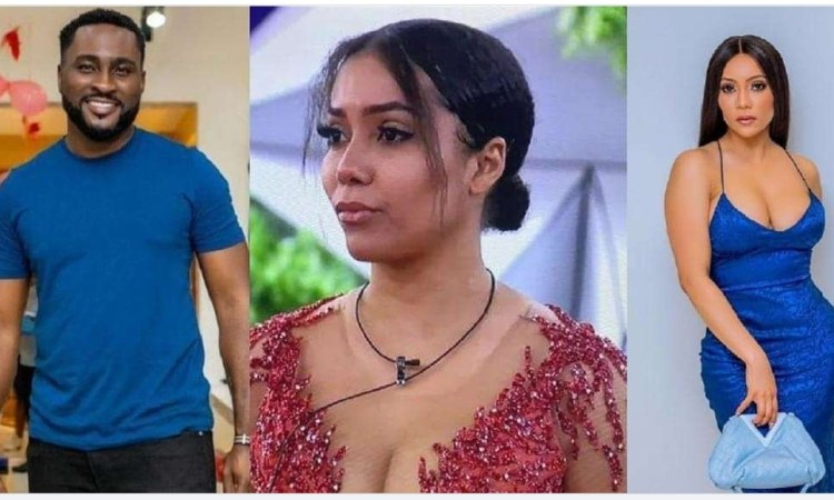 """#BBNaija: """"That thing was just talk o, it did not happen"""" — Pere takes back claim of fingering Maria (video)"""