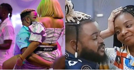 """#BBNaija: """"WhiteMoney stopped me from getting intimate on Friday night"""" – #BBNaija2021 Housemate Queen Reveals (video)"""