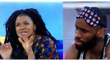 #BBNaija: LiquoRose and Emmanuel sleep on separate beds after Biggie gave her a secret task to pick a fight with him.