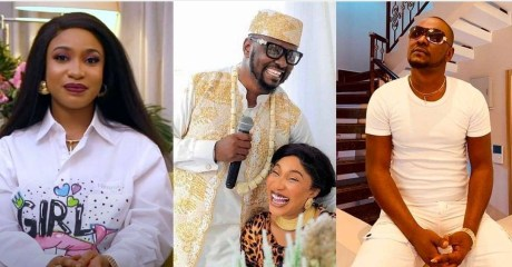 """""""My ex-lover, Prince Kpokpogri, is threatening to expose my nudes"""" – Tonto Dikeh cries out"""