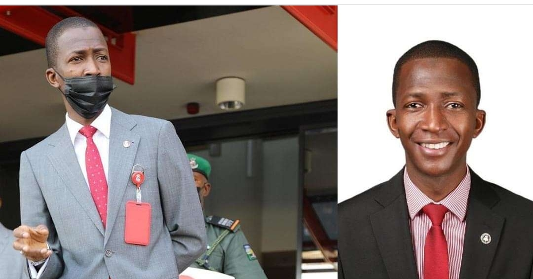 ''I was dehydrated''- EFCC boss, Abdulrasheed Bawa speaks after he nearly slumped on Thursday.