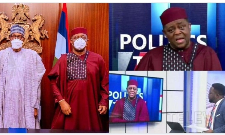 """""""It's a very insulting question"""" – FFK lambastes TV reporter who asked if his defection to APC was finance-related (video)"""