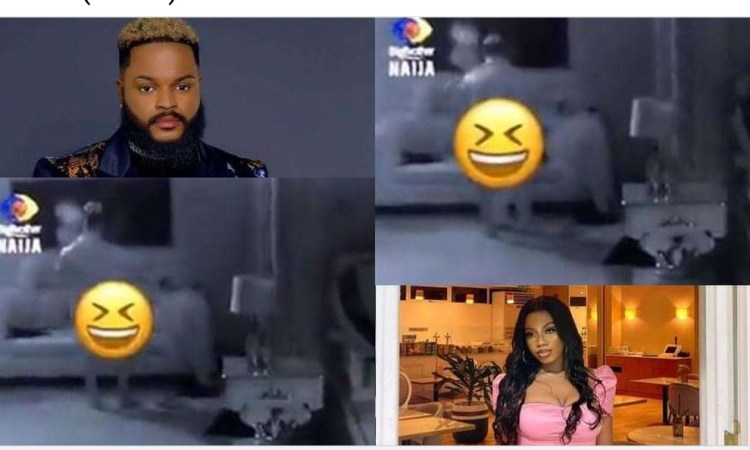 """""""If it's Angel una go call am marketer"""" – Reactions as Whitemoney's butt flashes on viewers screen (Video)"""