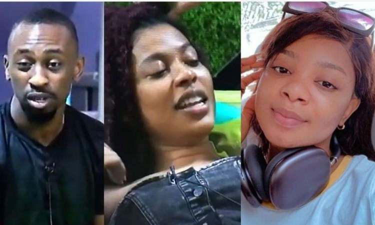 #BBNaija: Nini and Saga narrate how Queen touched herself till she came