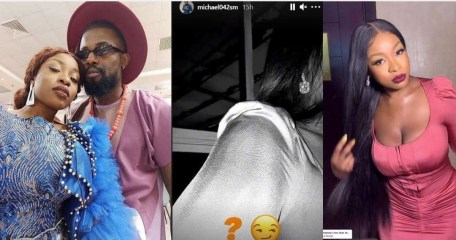 """#BBNaija: """"No hope for Whitemoney"""" – Reactions as #BBNaija2021 Housemates Michael and Jackie B link up outside the house (video)"""