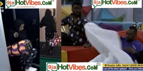 #BBNaija2021: Watch The Moment Nini sneaks back into the #BBNaija house and Pere almost caught her (video)